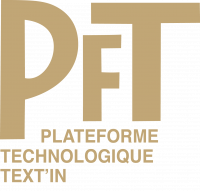 PLATEFORME TECHNOLOGIQUE TEXT IN